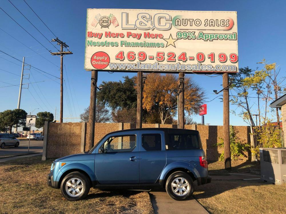 2007 Honda Element EX 2WD AT (5J6YH18787L) with an 2.4L L4 DOHC 16V engine, Automatic Overdrive transmission, located at 1830 North Belt Line Road, Irving, TX, 75061, (469) 524-0199, 32.834373, -96.993584 - Photo #0